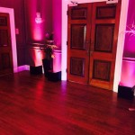 Wireless Uplighting Example Eaves Hall