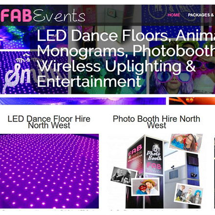Alex is also a Director of FAB Events, a well regarded events company hiring the latest event trends including LED Dance Floors, Magic Mirrors, Photobooths and many more services. Book one of Alex