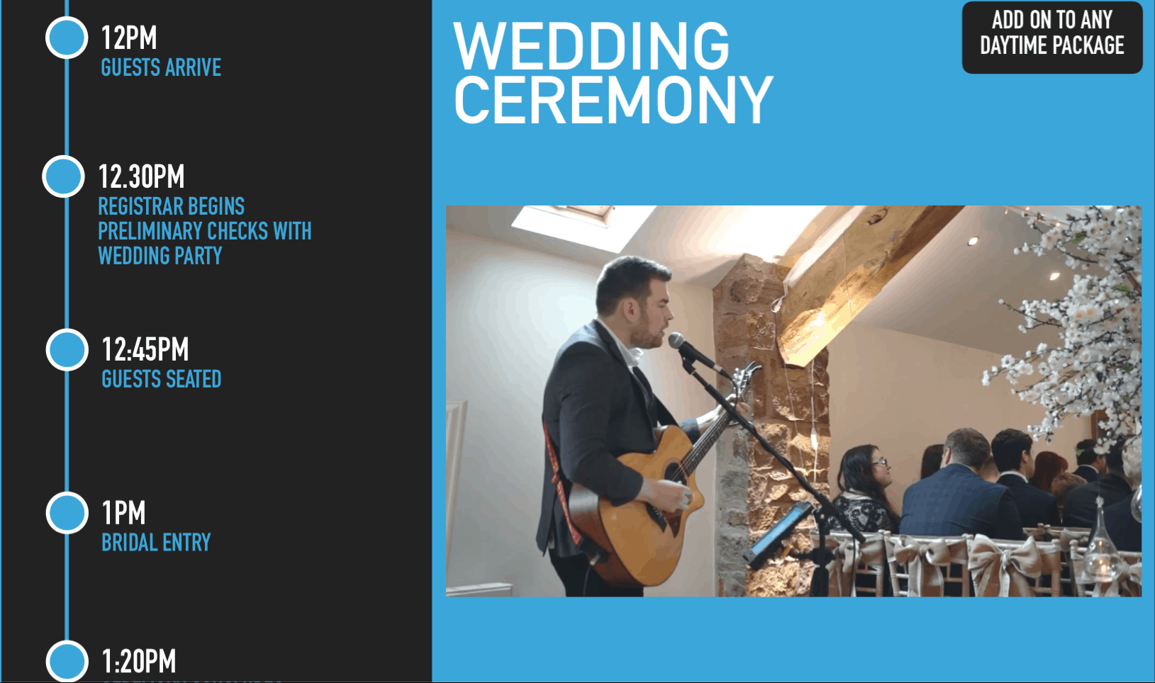 Wedding Ceremony Performance