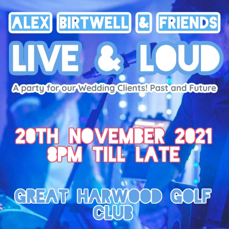 Ticket for Party Night with Alex Birtwell